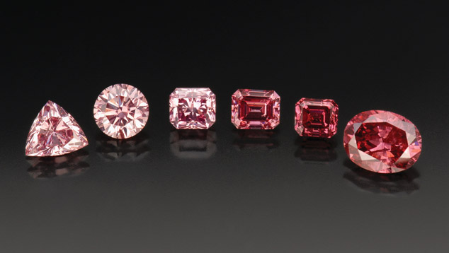 Invest your money in pink diamonds