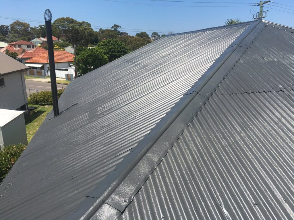 Roof restoration of technical ceilings